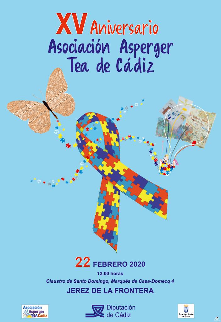 XV ANIVERSARIO ASOCIACIÓN ASPERGER TEA DE CÁDIZ